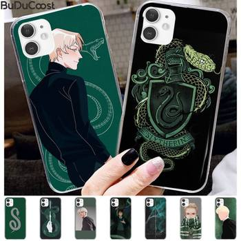 Draco Malfoy Phone Case For IPhone 11 12 Pro XS MAX 8 7 6 6S Plus X 5S SE 2020 XR Cover image
