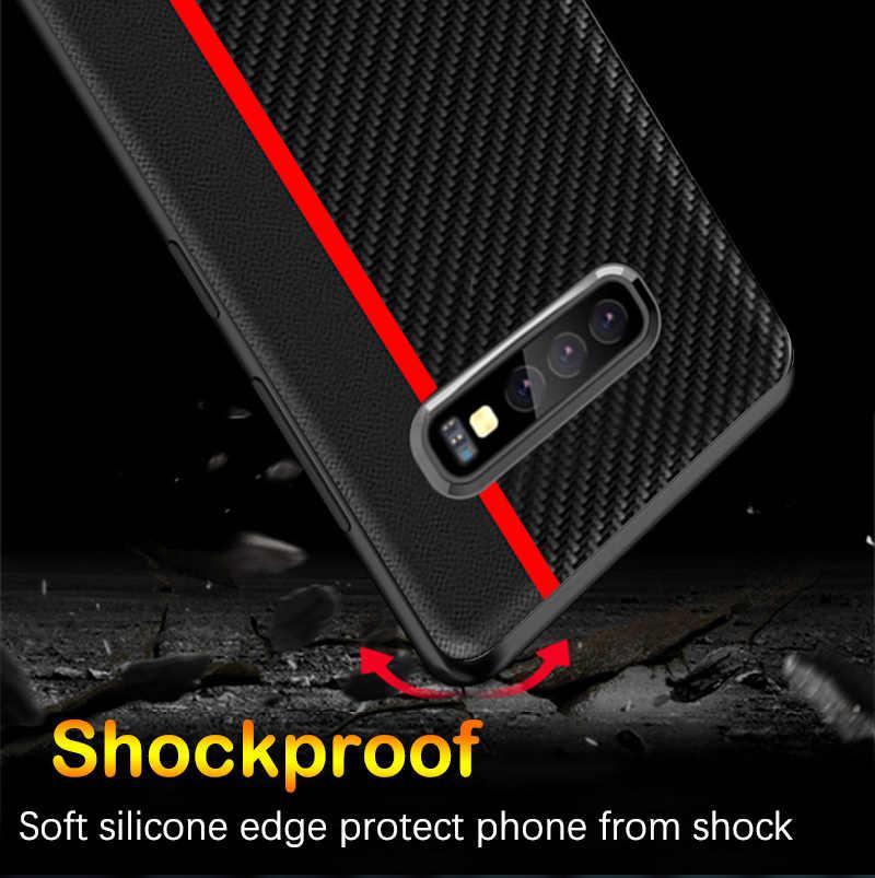 Dành Cho Samsung S10 Ốp Lưng Chính Hãng Bảo Vệ Cho Samsung Galaxy S10 Plus S8 S9 S10e 5G Note 10 9 a50 A70 A7 A8 Plus A9 2018 Ốp Lưng