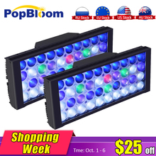 PopBloom Led Light Smart Aquarium Lamp Fish Tank Programmable for coral reef marino dimmable control Sunrise MJ3BP2