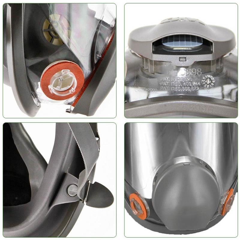 Original 6800 respirator gas mask Brand protection respirator mask against Organic gas