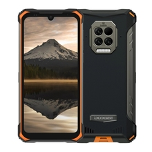 DOOGEE S86 Pro Smartphone 8GB 128GB Infrared Thermometer Mobile Phone 8500mAh 6 1   Helio P60 Octa Core Waterproof Cellphone