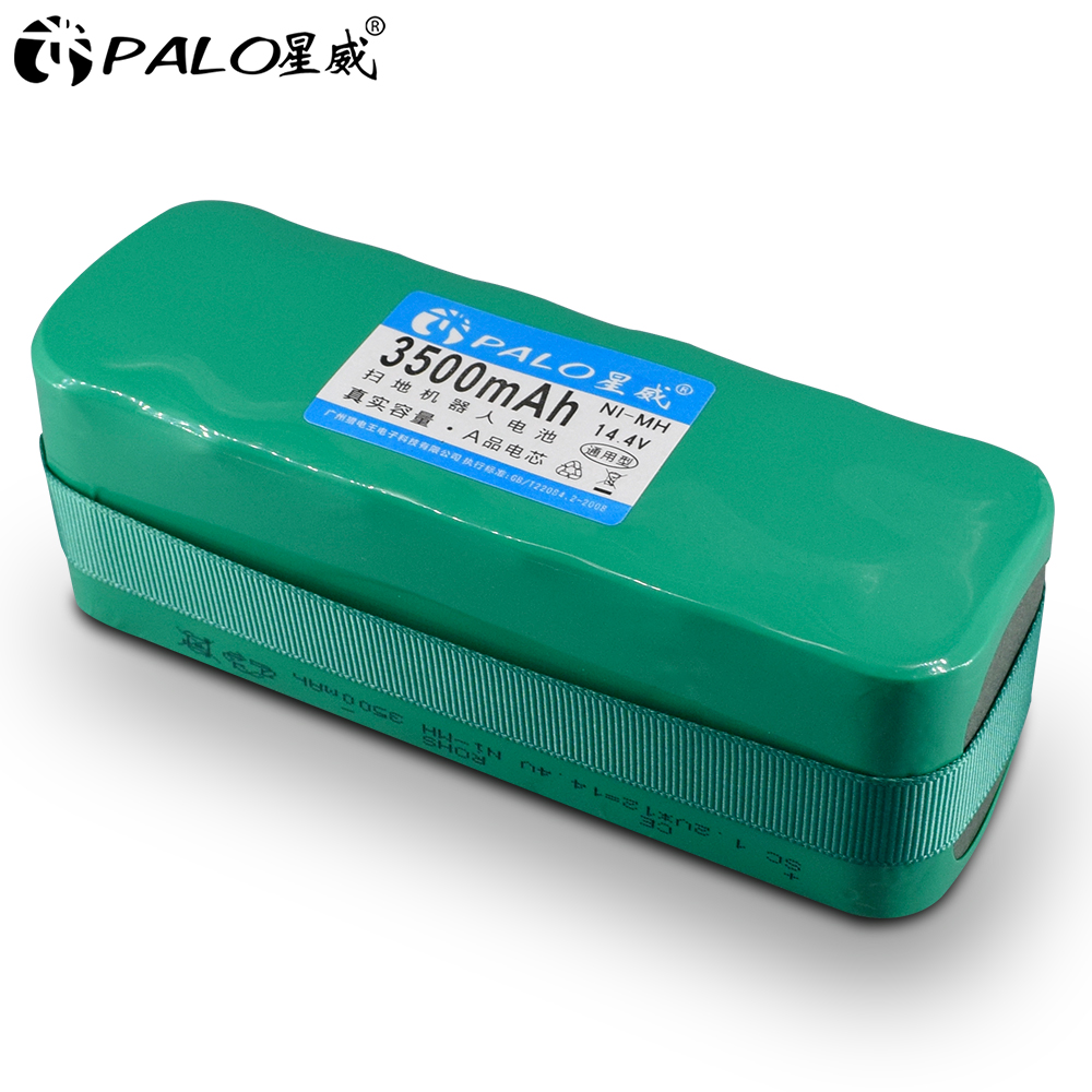 PALO Ni MH 14,4 V 3500mAh пылесос подметальный робот аккумуляторная батарея для X1/X3/XL3/KK 1/KK 2 KK 3 AGAit EC01