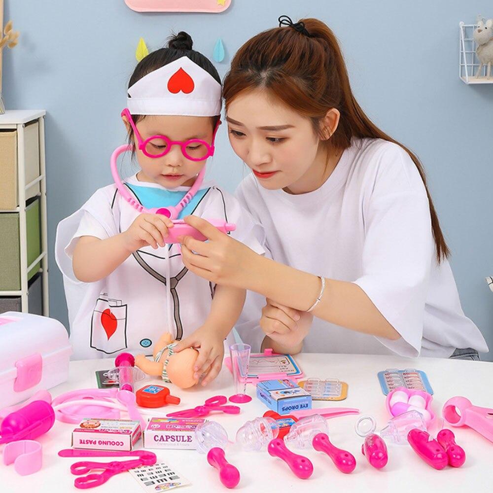 Для девочек ролевые игры Доктор Классическая медицина моделирование ролевые игры медицинская одежда игрушки набор для детей подарок