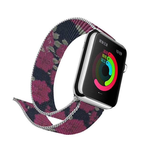 Milanese Printing Band for Apple Watch 1