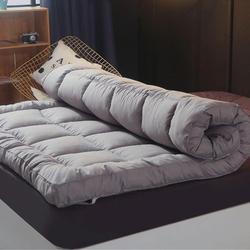 Colchão de algodão espessado antibacteriano respirável inverno quente almofada dobrável tatami único colchão duplo rei rainha tamanho