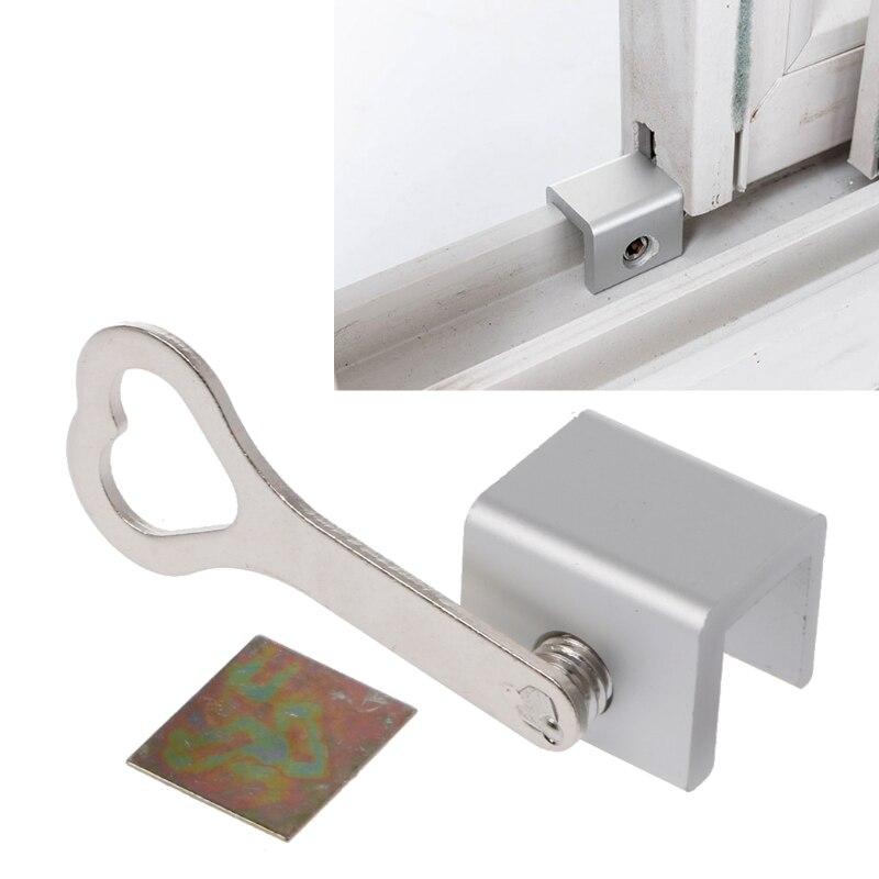 Move Window Child Safety Lock Sliding Windows Lock Security Sliding Sash Stopper 72XC