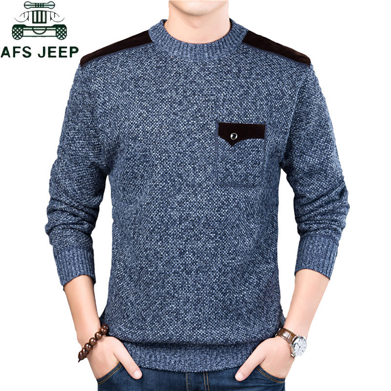 Autumn Winter Men's Sweater Turtleneck Solid Color O-Neck Casual Sweaters  Slim Fit Brand Knitted Pullovers Sueter Masculino 3XL