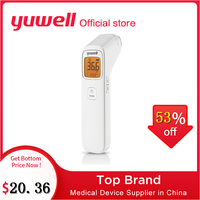 Yuwell YHW 2 LCD Digital Electronic Forehead Thermometer Infrared Thermometer Baby Adult Non Contact Child Body Temperature Gun