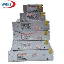 5 в 12 В 24 в 36 в 48 в светодиодный трансформатор, 2A/3A/4A/5A/6A/10A/12A/20A/30A/40A/60A power для 5V 12V 24V светодиодной ленты