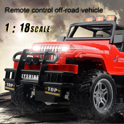 1:18 RC Car Toys Radio Control Car Mini Off-road Vehicle Remote Control Stunt Racing model Car Toy For Children Boys Chargeable