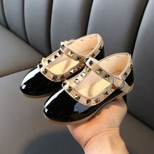girls dress shoes children #8217 s wild models explosion baby kids leather shoes princess shoes 2020 spring little girls beads shoes cheap