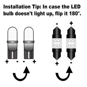 Image 3 - Kit de luces interiores Canbus para coche, bombilla Led para Volkswagen VW Transporter T5, Multivan MK5 T5, accesorios para coche, 20 Uds.