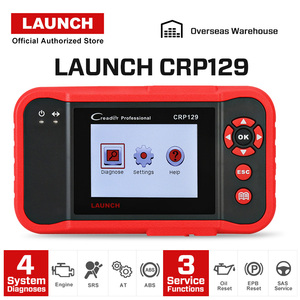 Image 2 - LAUNCH X431 CRP129 Car Scan Tool Creader OBD2 Automotive Diagnostics Scanner Auto Code Reader ABS Airbag Engine Transmission