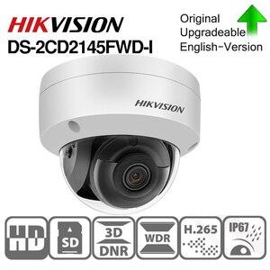 Image 2 - Hikvision original DS 2CD2145FWD I PoE IP Camera 4MP Network CCTV security camera IR30 IP67 SD Card Slot 30m Night version