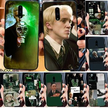 Diseny Draco Malfoy Phone Case For Redmi 6 4X 7 7A 8 GO K20 Note 4 4X 5 5A 6 6 Pro 7 8 8pro Black TPU Soft image