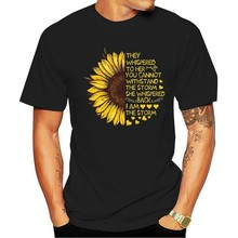 Men Funny T Shirt Fashion tshirt I'm Blunt Because God Rolled Me That Way Sunflower LGBT Version Women t-shirt(China)