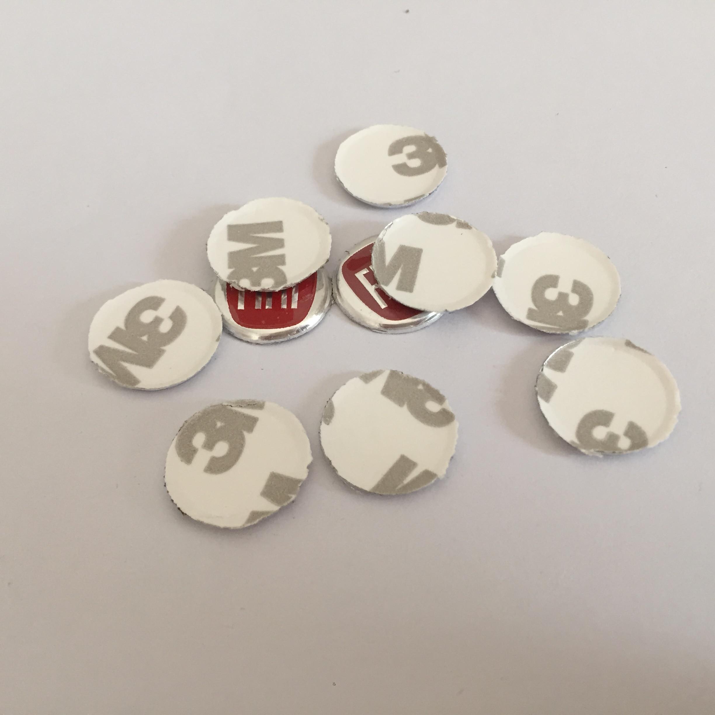 10 шт. 14 мм красная эмблема Эмблемы значок кнопки радио наклейка Замена автостайлинг аксессуары