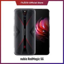 Предварительная продажа nubia Red Magic 5G смартфон 144 Гц 6,65 ″ дисплей Snapdragon 865 8 Гб RAM 5G 64MP Тройная камера 4500 мАч игровой телефон