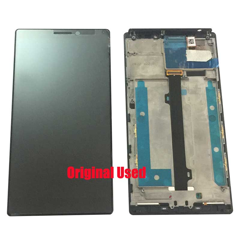 Original For <font><b>Lenovo</b></font> <font><b>Vibe</b></font> <font><b>Z2</b></font> Pro K920 <font><b>LCD</b></font> <font><b>Display</b></font> Glass Digitizer Sensor Frame <font><b>Touch</b></font> <font><b>Screen</b></font> Assembly Panel Mainboard Motherboard image