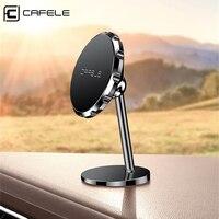Cafele-soporte magnético para teléfono móvil, para coche, iPhone 11 Pro, Xiaomi, GPS, rotación 360
