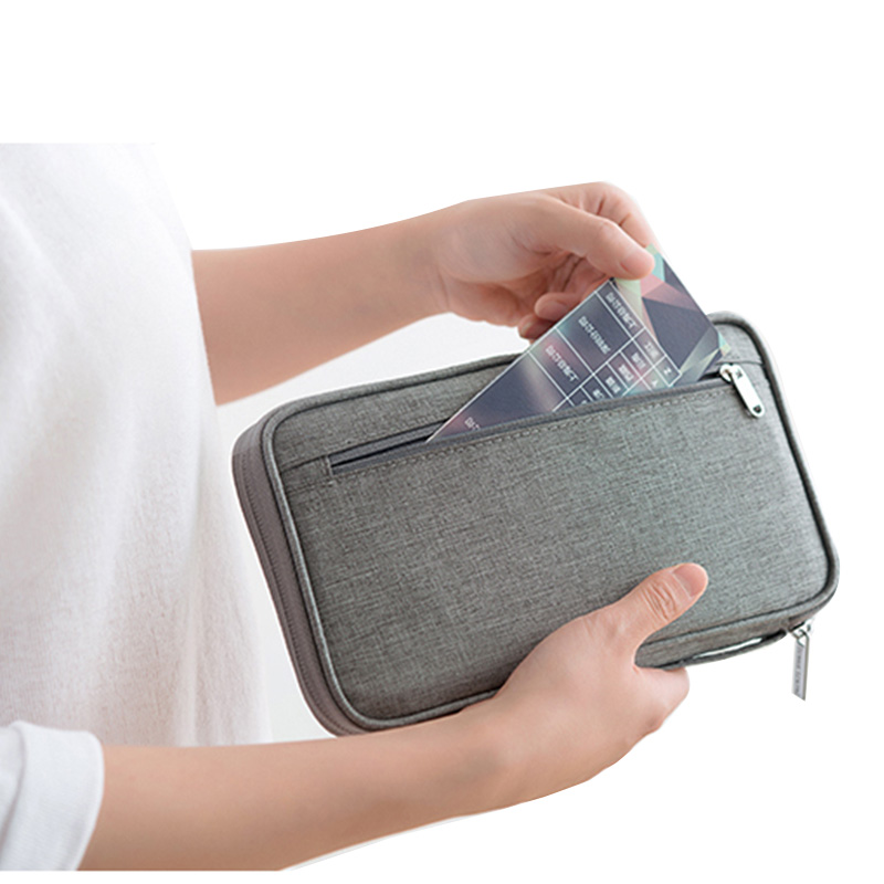Passport Cover Case Waterproof Passport Holder Holder Travel Wallet Credit Card Organizer Passport Bag Cardholder Accessories
