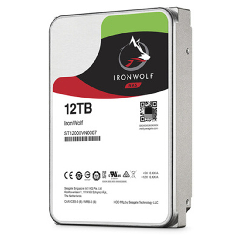 """New HDD For Seagate Brand 12TB 3.5"""" 256MB 7200RPM For Internal Hard Disk For NAS Hard Drive For ST12000VN0008 ST12000VN0007 2"""