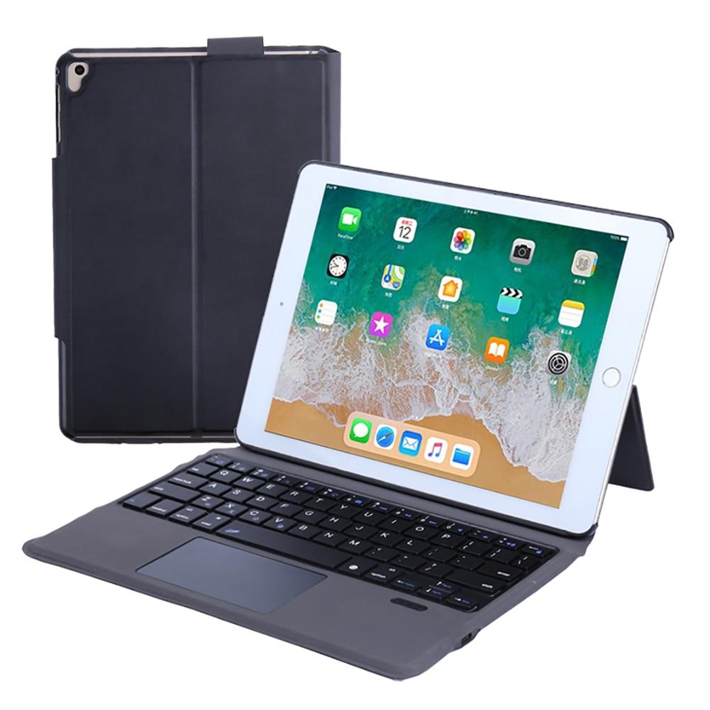 Sans fil Bluetooth clavier tablette couverture pour iPad 9.7 2017 2018 Air 2 étui en cuir PU étui de protection pour iPad Pro 9.7 étui
