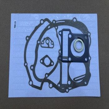 LOPOR Motorcycle Engine Gaskets Include Cylinder Gasket Kit Set For YAMAHA YBR125 YBR 125