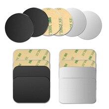 FONKEN Ultra-thin 5pcs Magnetic Metal Plate Car Phone Holder Disk iron Sheet Sticker Strong Magnet For Phone Holder Stand Mount