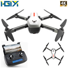 "HGIYI SG906 GPS Drone עם 4K HD מצלמה Quadcopter 5G WIFI FPV Brushless מנוע RC Drone מתקפל מסוק selife מל ""טים VS E58(China)"