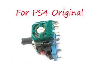 Image 1 - 100 sztuk oryginalny nowy ALPS prawy/lewy Joystick 3D gałka analogowa czujnika dla kontrolera PS4 Dualshock 4 część naprawcza