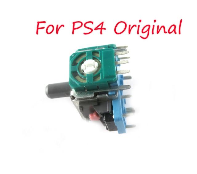100 sztuk oryginalny nowy ALPS prawy/lewy Joystick 3D gałka analogowa czujnika dla kontrolera PS4 Dualshock 4 część naprawcza