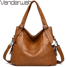 Ladies Hand Bags Sac Bolsa 2019 Vintage Style Women Handbags Leather luxury handbags women bags Designer Large Capacity Tote Bag