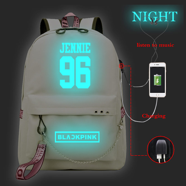 BLACKPINK LUMINOUS BACKPACK (16 VARIAN)