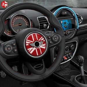 Image 2 - MINI Cooper Countryman için F60 karbon Fiber direksiyon merkezi 3D Sticker çıkartma kapak araba tasarım iç dekorasyon
