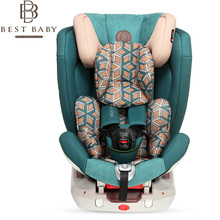 Best Baby Children's Safety Seat ISOFIX Car Safety Seat 9 Months – 12 Years Old Green Zuma Stone