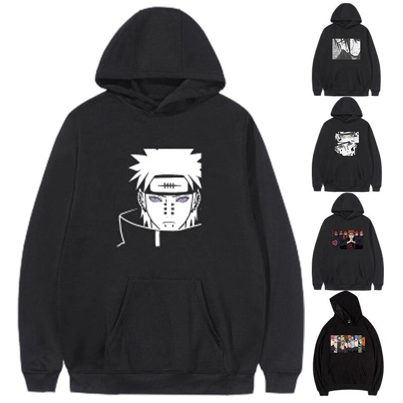 Anime Naruto Hoodies 2020Japan Akatsuki Member Hip Hop Pullover Sweatshirt Large Size Hoodie xxxtentacion naruto harajuku hoodie