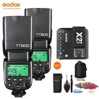 Godox TT600 2.4G Wireless GN60 Master/Slave Camera Flash Speedlite X2T trigger for Canon Nikon Sony Pentax Olympus Fuji Lumix