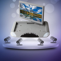 10.1 Inch Car Hd Digital Lcd Display Reversing Image Display Rotating Screen Ceiling Display Usb Sd Card Player