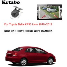Car wireless rear camera  For Toyota Belta XP90 Limo 2010~2012 car Night Vision HD cam CCD night vision waterproof high qualit