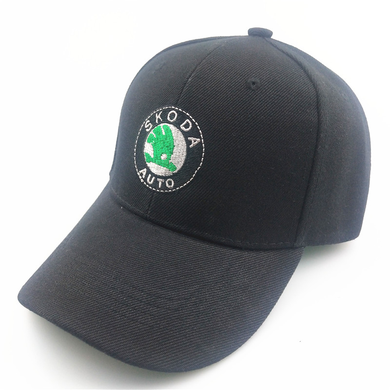New Baseball Cap Unisex Car Truck Hat Embroidery For Skoda Octavia Fabia Rapid Yeti Superb Motorcycle Car Styling Accessories