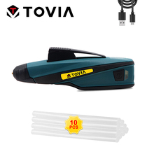 Glue-Gun Melting-Sticks Repair-Tool Cordless Electric Hot-Melt Home Mini 7mm for DIY