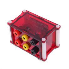 1 шт. Высокоточный Индуктивный резистор конденсатор LRC калибровочный модуль коробка
