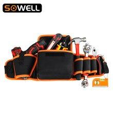 Multi-functional Electrician Tools Bag Waist Pouch Belt Storage Holder Organizer Garden Tool Kits Waist Packs
