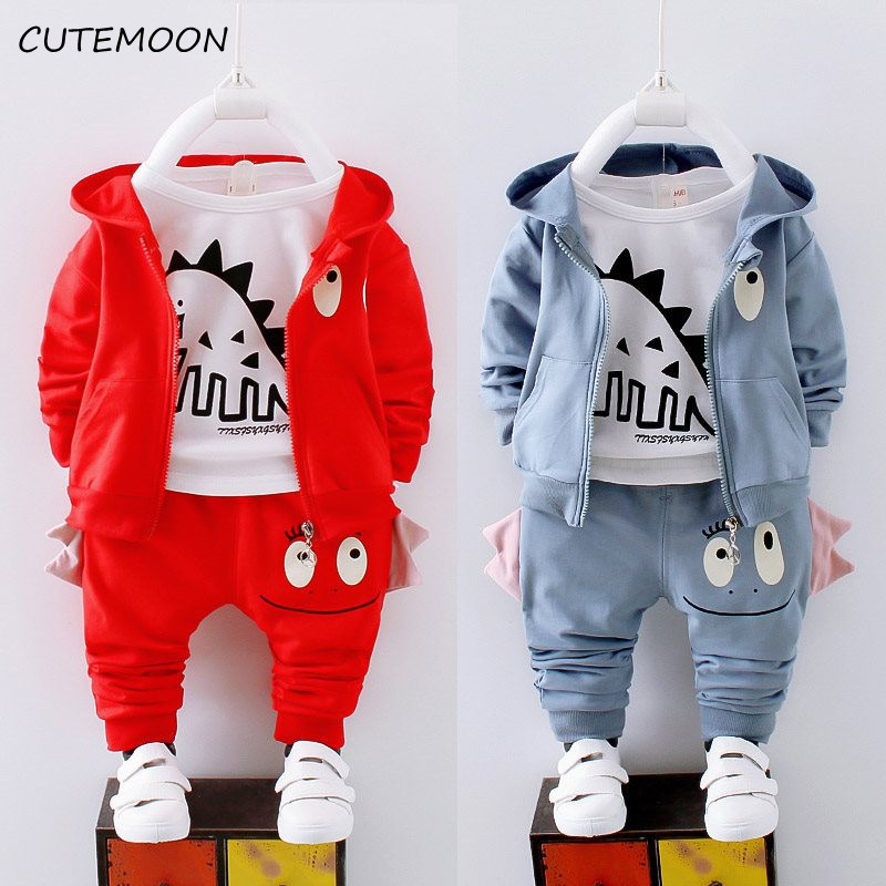 CUTEMOON Baby Boy Sports Suit Clothing Sets Kids Floral Clothes For Birthday Formal Outfits Suit Fashion Tops Shirt + Pants 2pcs
