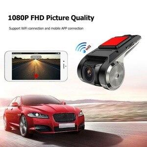 Image 3 - 1080P ADAS USB WIFI Mini DVR Kamera Registrator Dash Cam Nachtsicht Digital Video Recorder für Android Auto Navigation HD WIFI