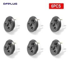 EU Plug Adapter US to EU Plug Converter High Quality 16A 250V AC Socket Universal EU Adapter AU UK CN To EU Travel Adapter