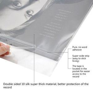 50 шт., Защитные чехлы для виниловых пластинок, 12 дюймов