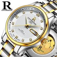 Genuine Product Ruizhiyuan Watch Men Fully Automatic Analog Watch Business Night Light Watch Hollow out MEN'S Watch Waterproof F