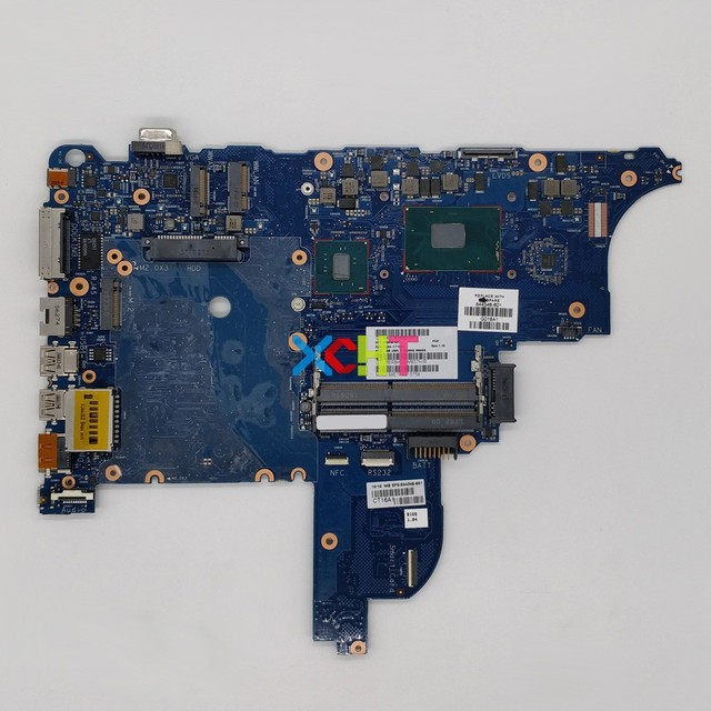 XCHT for HP ProBook 650 G2 Series 844346 001 844346 601 6050A2740001 MB A01 UMA i7 6820HQ Laptop Motherboard Mainboard Tested